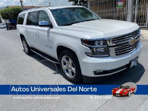 Chevrolet Suburban Premier Piel 4x4 usado (2017) color Blanco precio $648,000