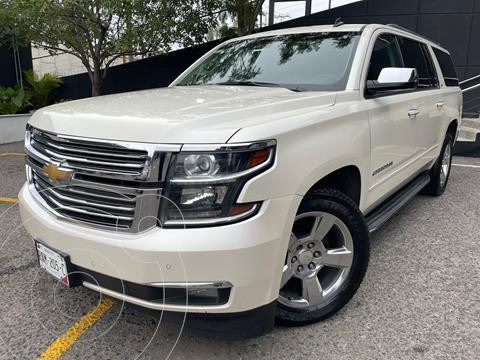 Chevrolet Suburban LTZ 4x4 usado (2015) color Blanco precio $560,000