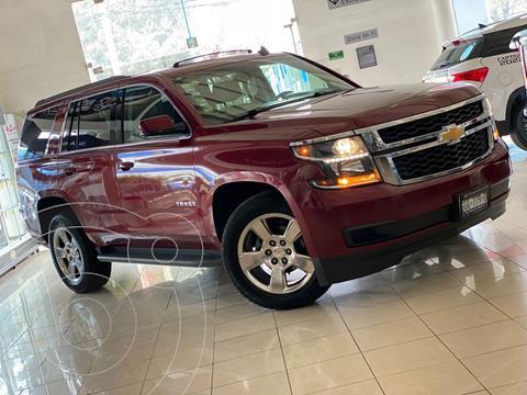 Chevrolet Tahoe LT Piel usado (2016) color Rojo precio $569,000