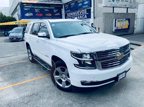 Chevrolet Tahoe Premier Piel 4x4 usado (2019) color Blanco precio $890,000