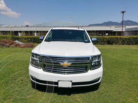 Chevrolet Tahoe Premier Piel 4x4 usado (2017) color Blanco precio $599,000