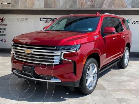 Chevrolet Tahoe High Country usado (2021) color Rojo precio $1,585,000