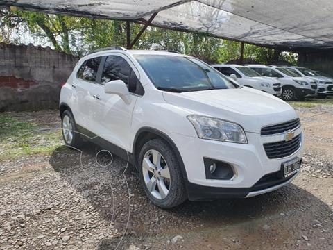 Chevrolet Tracker LTZ + 4x4 Aut usado (2014) color Blanco precio $1.600.000