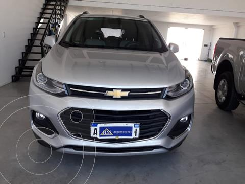Chevrolet Tracker Premier 4x2 usado (2018) color Gris Carbono financiado en cuotas(anticipo $1.320.000)