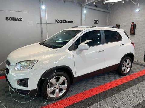 Chevrolet Tracker LTZ + 4x4 Aut usado (2014) color Blanco Summit precio $1.650.000