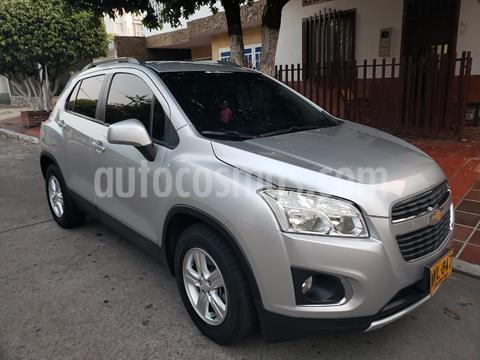 Chevrolet Tracker 1.8 LS usado (2015) color Plata precio $42.000.000