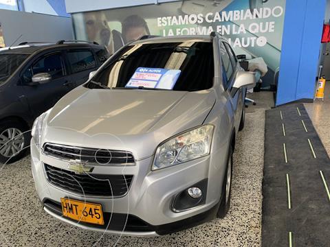 Chevrolet Tracker 1.8 LS Aut  usado (2016) color Plata precio $49.000.000