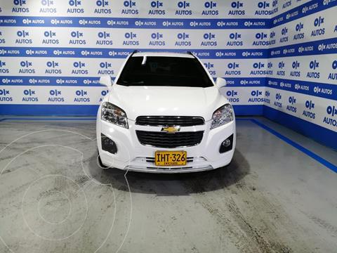 Chevrolet Tracker 1.8 LT Aut  usado (2016) color Blanco Galaxia financiado en cuotas(anticipo $7.000.000)