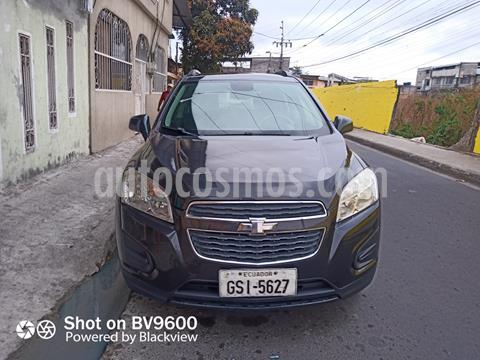 Chevrolet Tracker LS usado (2014) color Gris precio u$s13.000