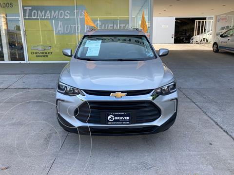Chevrolet Tracker LT Aut usado (2021) color Plata Dorado precio $395,000