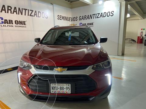 Chevrolet Tracker LS usado (2021) color Rojo Flama precio $354,900