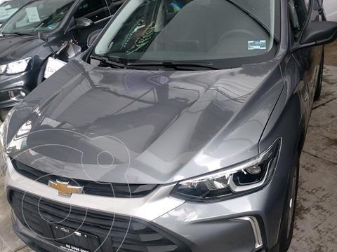 Chevrolet Tracker LS usado (2021) color Gris precio $344,900