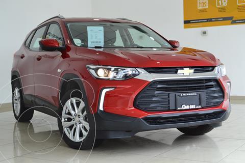 Chevrolet Tracker LT Aut usado (2021) color Rojo precio $385,000