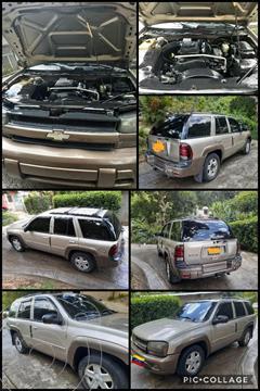 Chevrolet Trail Blazer Auto. 4x4 usado (2003) color Bronce precio u$s3.000