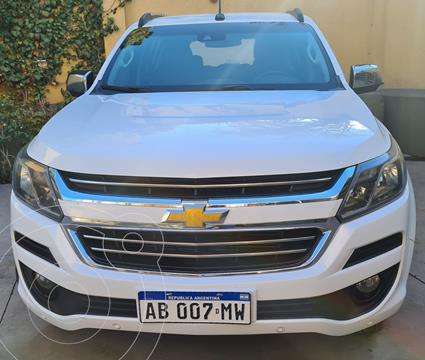 Chevrolet Trailblazer 2.8 4x4 LTZ Aut usado (2017) color Blanco precio $3.350.000