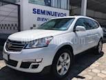 Foto venta Auto usado Chevrolet Traverse LT Piel (2017) color Blanco precio $459,500