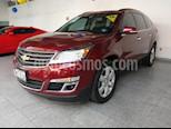 Foto venta Auto usado Chevrolet Traverse LT Piel color Rojo precio $415,000
