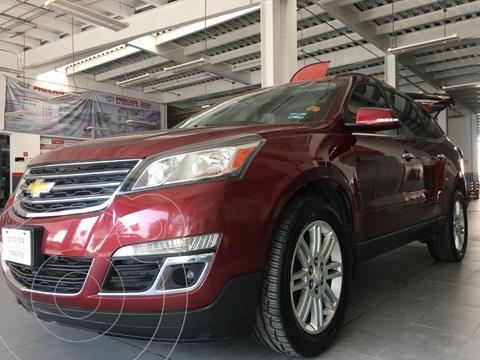 Chevrolet Traverse LT 7 Pasajeros usado (2015) color Rojo precio $293,000