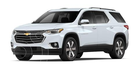 Chevrolet Traverse LT Piel usado (2020) color Blanco precio $699,000