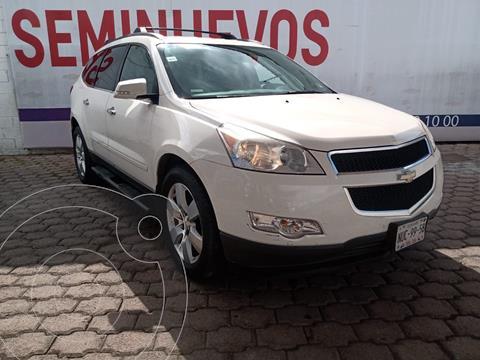 Chevrolet Traverse LT Piel usado (2011) color Blanco precio $190,000