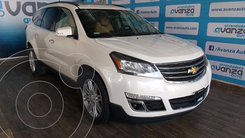 Chevrolet Traverse LT Piel usado (2013) color Blanco financiado en mensualidades(enganche $80,350 mensualidades desde $8,169)