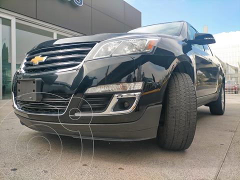 Chevrolet Traverse LT Piel usado (2017) color Negro Grafito precio $385,000