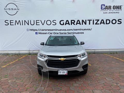 Chevrolet Traverse LS usado (2018) color Plata Brillante precio $454,900