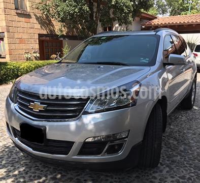 Chevrolet Traverse LT 7 Pasajeros usado (2017) color Plata precio $415,000