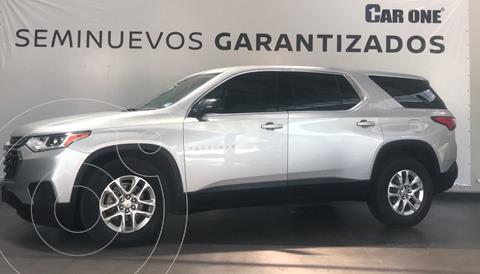 Chevrolet Traverse LT usado (2018) color Plata precio $469,000