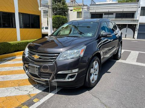 Chevrolet Traverse LT Piel usado (2016) color Negro precio $319,900