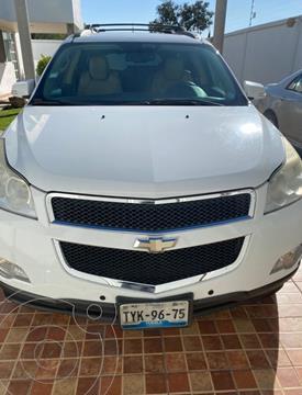 Chevrolet Traverse LT Piel usado (2009) color Blanco precio $170,000