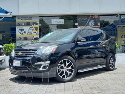 Chevrolet Traverse LT 7 Pasajeros usado (2017) color Negro precio $360,000