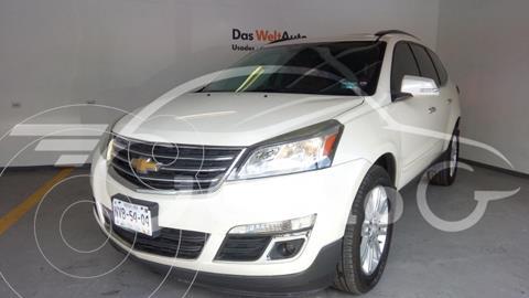 Chevrolet Traverse LT PIEL 281HP 3.6L V6 AT usado (2014) color Blanco precio $290,000