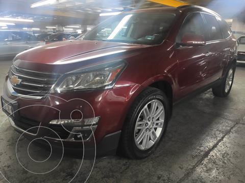 Chevrolet Traverse LT 7 Pasajeros usado (2015) color Rojo Tinto precio $276,900