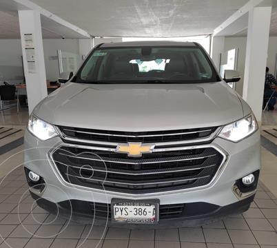 Chevrolet Traverse LT Piel usado (2019) color Plata Dorado precio $629,000