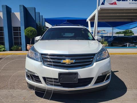 Chevrolet Traverse LT Piel usado (2017) color Blanco precio $370,000