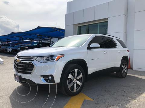 Chevrolet Traverse LT Piel usado (2021) color Blanco precio $870,000