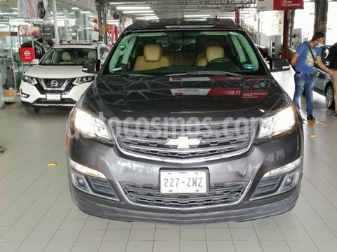 Chevrolet Traverse 5P LT TA A/AC. AUT. PIEL QC DVD GPS ABS RA-20 usado (2014) color Gris precio $250,000