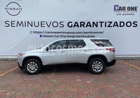 Chevrolet Traverse LT usado (2018) color Plata precio $539,900