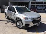 Foto venta Auto usado Chevrolet Traverse Paq A (2018) color Plata Estelar precio $578,000
