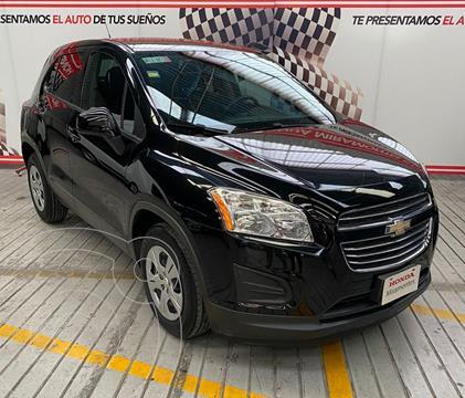 Chevrolet Trax LS usado (2016) color Negro Carbon financiado en mensualidades(enganche $115,000 mensualidades desde $3,328)