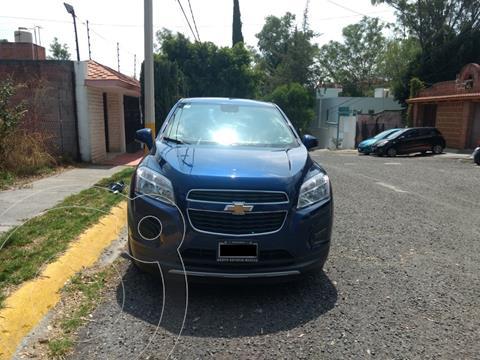 Chevrolet Trax LT usado (2013) color Azul Metalico precio $163,000