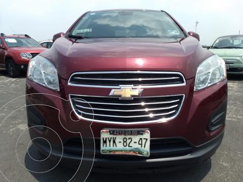 Chevrolet Trax LT Aut usado (2016) color Rojo Victoria financiado en mensualidades(enganche $43,000)
