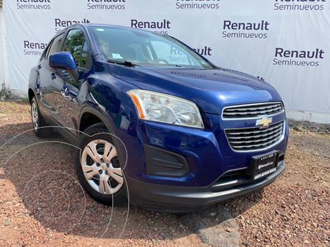 Chevrolet Trax LS usado (2015) color Azul Metalico precio $160,000
