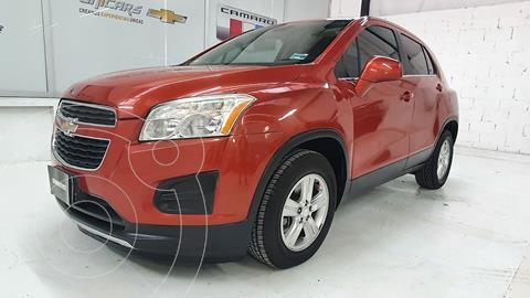 Chevrolet Trax LT Aut usado (2015) color Naranja precio $218,000