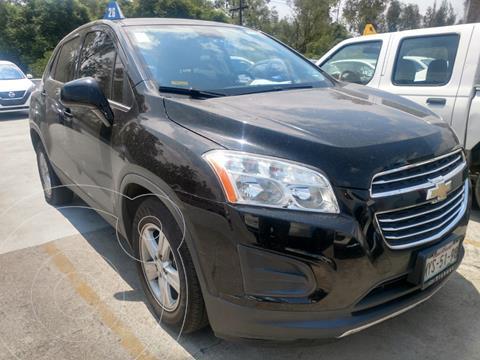 Chevrolet Trax LT Aut usado (2016) color Negro financiado en mensualidades(enganche $45,000 mensualidades desde $5,320)