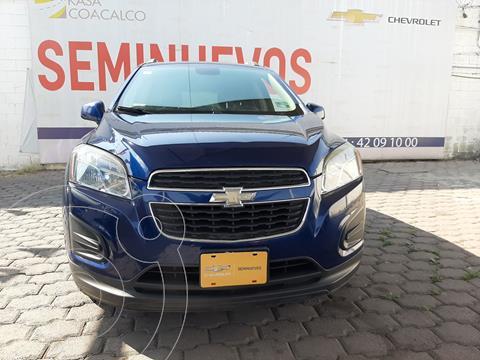 Chevrolet Trax LS usado (2015) color Azul precio $160,000