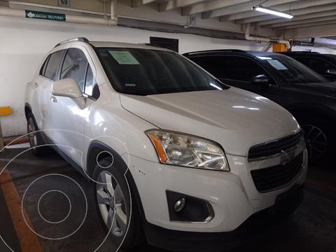 Chevrolet Trax LTZ usado (2014) color Blanco Galaxia financiado en mensualidades(enganche $37,980 mensualidades desde $6,067)