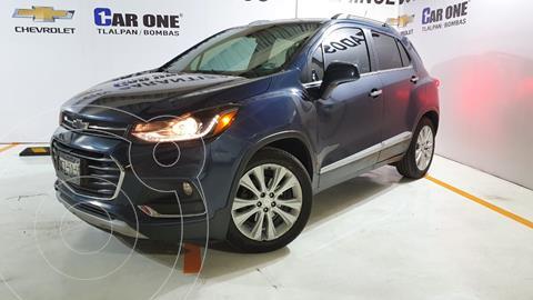 Chevrolet Trax Premier Aut usado (2018) color Azul Oscuro precio $275,000