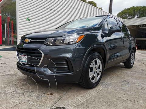 Chevrolet Trax LS usado (2017) color Gris precio $229,000
